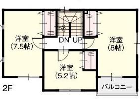 間取り図2F